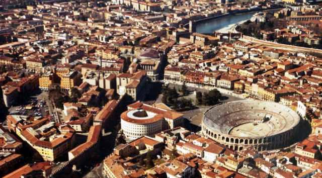 Verona city center
