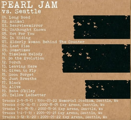 Pearl Jam - 2000-11-06: Seattle, WA, USA (disc 3) (#72)