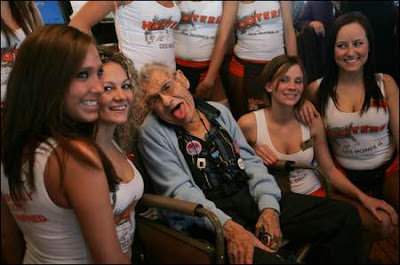 Image result for old man in Hooters