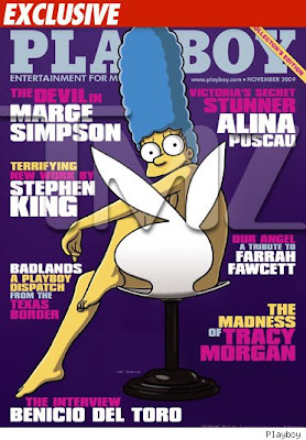 Alone Ready For Cartoon Porn Marge Simpson Has Posed Nude Playboy