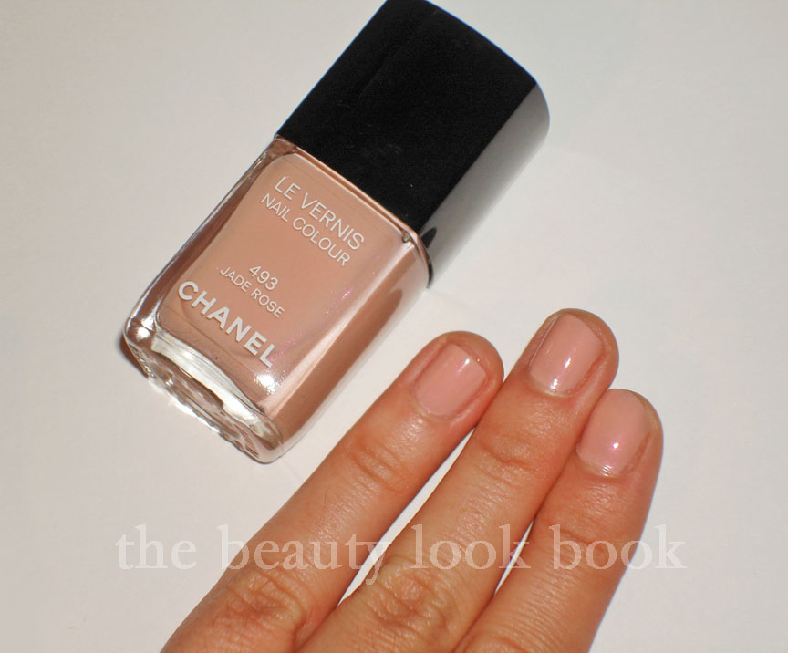 Populaire Chanel Jade Rose Le Vernis Nail Colour | The Beauty Look Book VA81