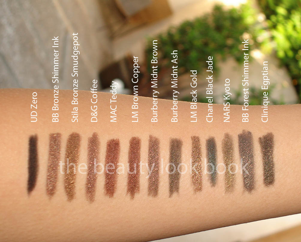 Burberry Beauty Eye Definer Pencils: Midnight Brown ...