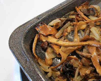 le pigeon s recipe calls for shiitake mushrooms and truffles i having ...