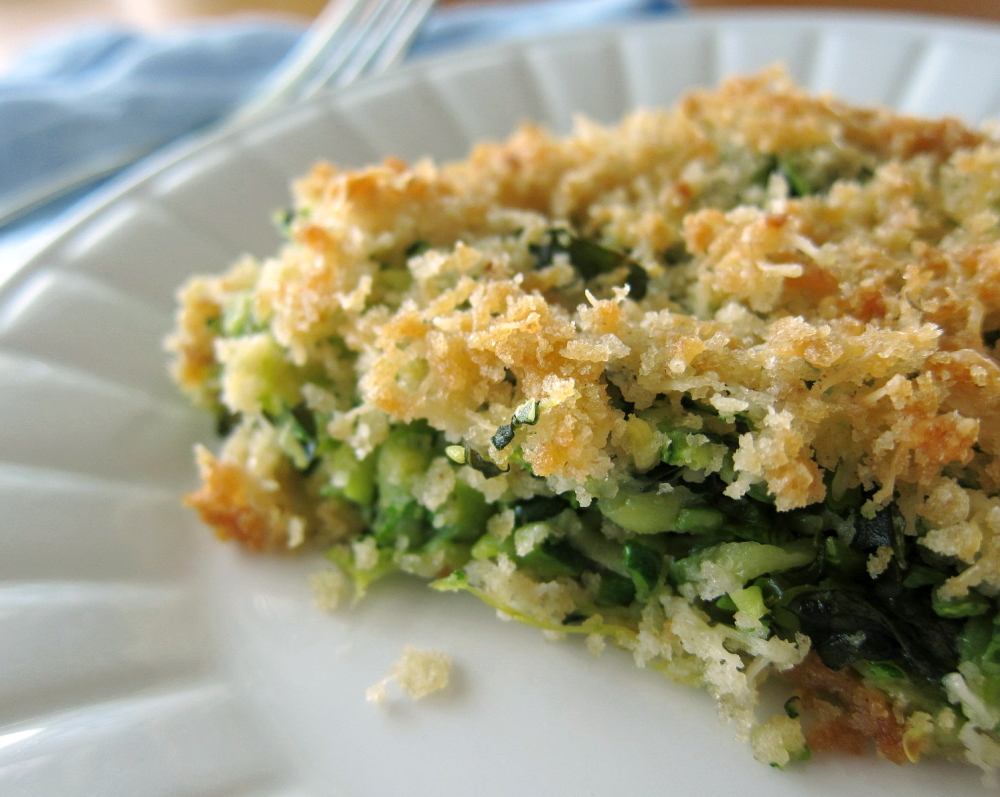 last call for corn: great summer dish-- zucchini basil gratin
