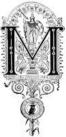 Selep Imaging ornate Calligraphy letter M