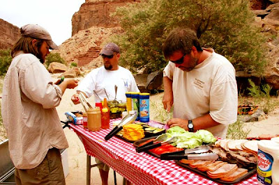 Wilderness River Adventures Lunch by Selep Imaging