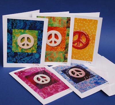 Peace Sign Cards by Jeanne Selep of Selep Imaging