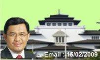 Website Bapa Gupernur.Mangga Sumpingan.