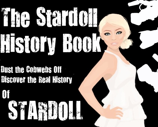 The Stardoll History book.