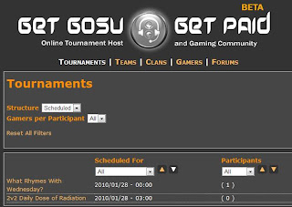 online video game tournaments