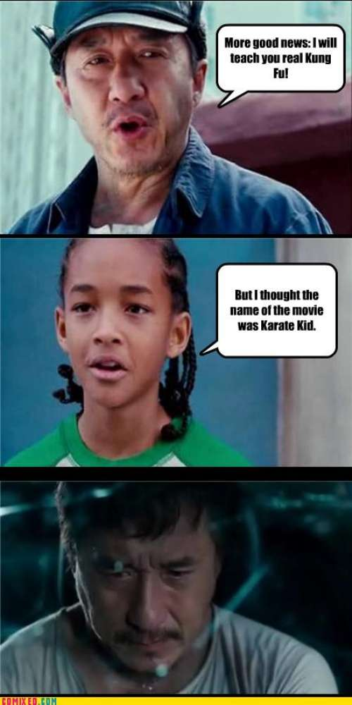 funny comixed movies 1 gentle art of meme karate kid