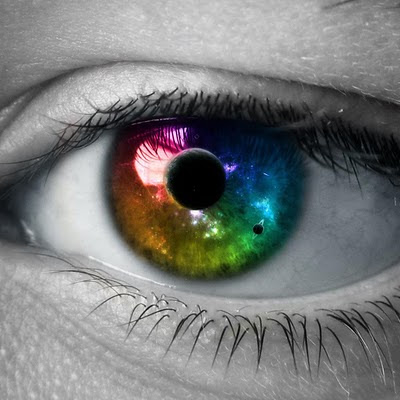 3D eye like the universe download free wallpapers for Apple iPad