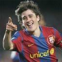 Bojan Krkić slavi gol, FC Barcelona download besplatne slike pozadine za mobitele