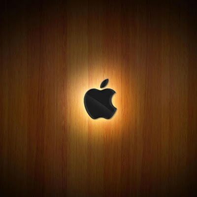 Apple logo, wood background download free wallpapers for Apple iPad