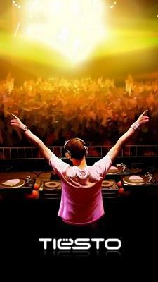DJ Tiesto Party download besplatne pozadine slike za mobitele