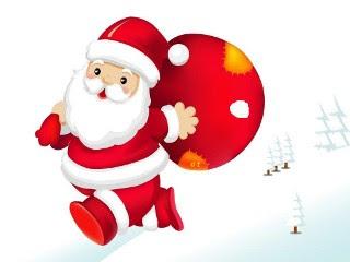 Božićne slike djed Mraz download besplatne pozadine za mobitele