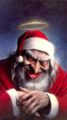 Zločesti djed Mraz download besplatne pozadine slike za mobitele
