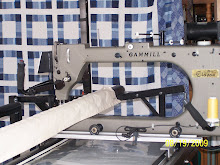 My Gammill Longarm Machine