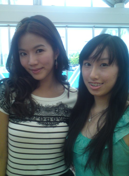 RUI EN and me!!! :D (2nd time filming with her)