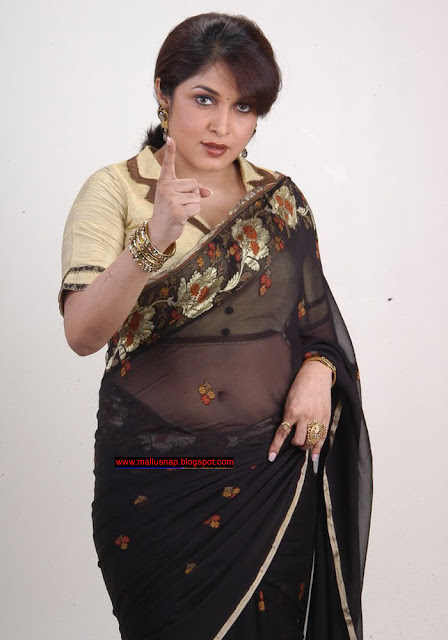Indian Hot Actress: Remya Krishnan with her huge navel