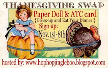 Thanksgiving Paper Doll & ATC Card Swap