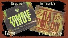 Halloween ATC Card  & Ornie Swap Banner