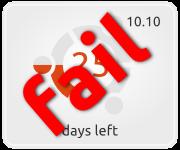 Banner de conteo Ubuntu 10.10 Maverick Meerkat
