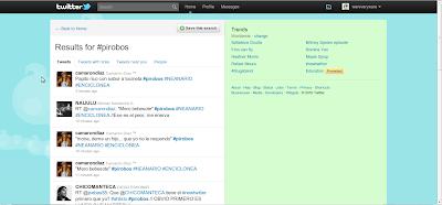 Nuevo Twitter - Busquedas