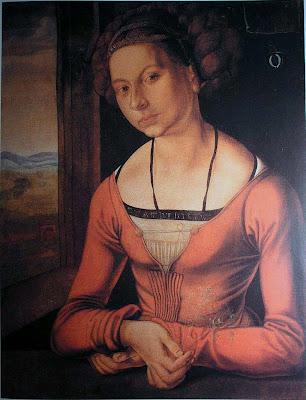 durer WomanWithHerhairUp1 1496 98(AD MGApl50) Resurrecting Margret, the Secret Co artist