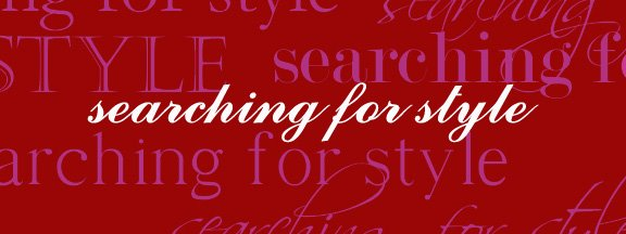 Searching For Style