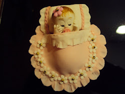 Bebezinho para topo de bolo