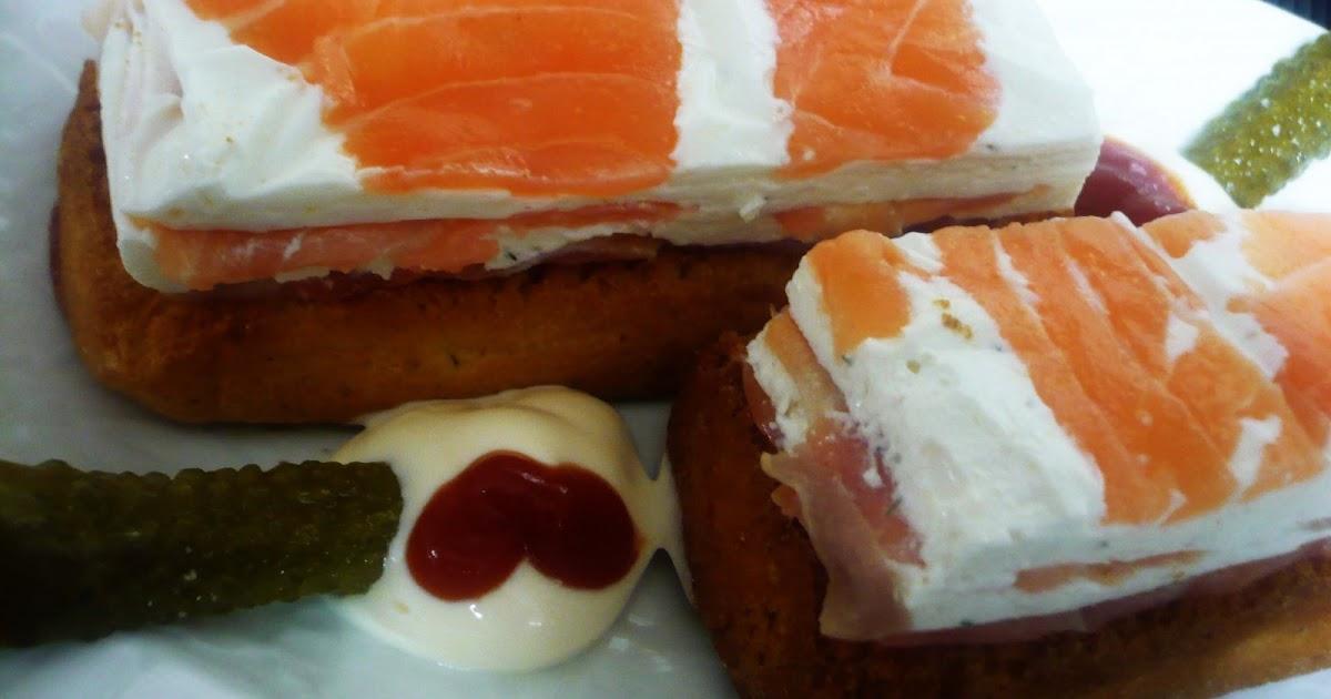 Pamencocina canap s de salm n ahumado for Canape de salmon ahumado