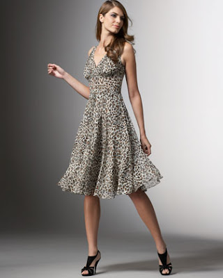 Brian Bradley Leopard Print Dress, $398