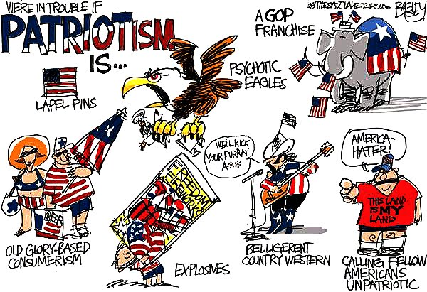 definition of  patriotism