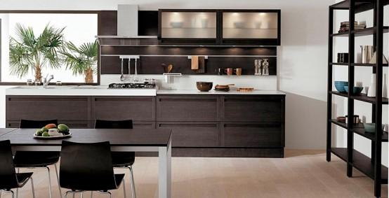 M s cocinas negras como combinar colores en la cocina - Combinar colores cocina ...