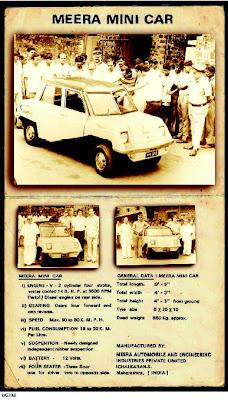 Meera Mini Car India