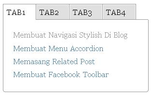 belajar ngeblog membuat menu-menu di samping blog membuat tab view, belajar ngeblog, tutorial blog, blogspot