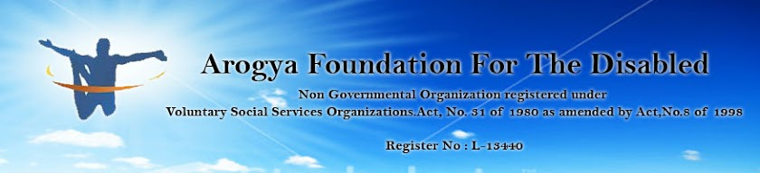 Arogya Foundation For The Disabled