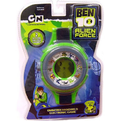 Ben 10 Alien Force Omnitrix Handheld Electronic Game 