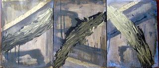 Original Abstract Art by Lizardo Painting Just A Little Longer Series