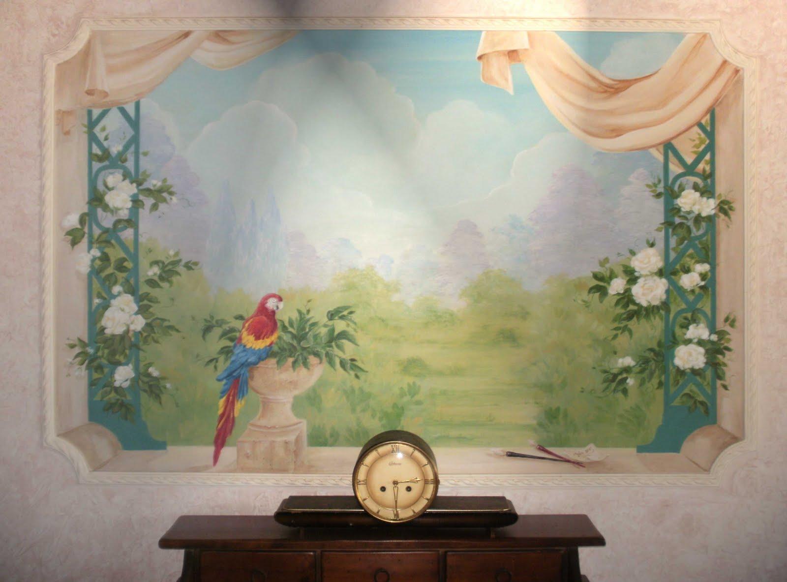 Decorazioni segrete il trompe l 39 oeil e l 39 arte della - Blog decorazione interni ...