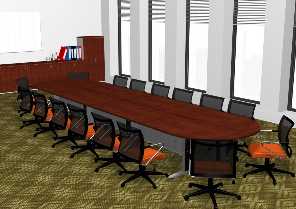 FOCUS TNL OFFICE CONCEPT ConferenceMeeting Table - Half circle conference table