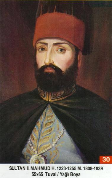 30-II. Mahmut-1785--1839-Tahta çiktiginda 23 yasinda