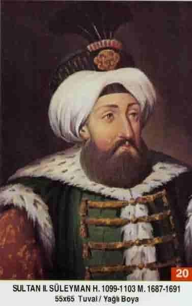 20 II. Süleyman (1687–1691)Suleiman2