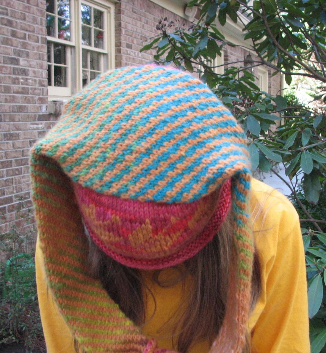 Knitting Patterns For Crazy Hats : Stitching n Knitting: Crazy Hats!!!