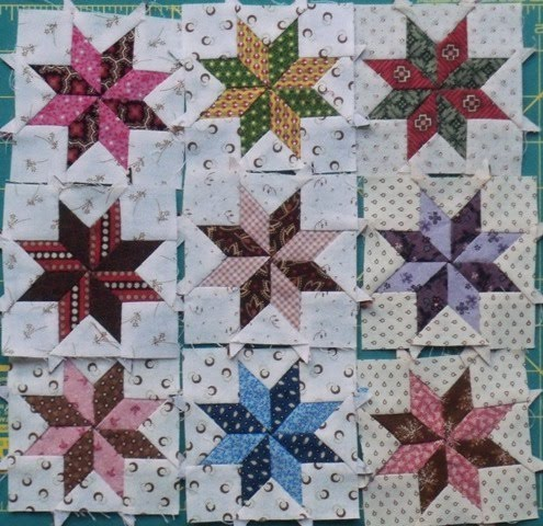 Craft along with Craftsy: Lemoyne Star Quilted Trivet