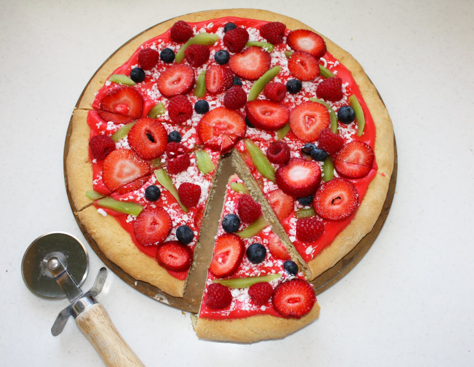 Fruit pizza | Not JUST A Housewife