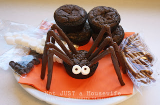3spider Peanut Butter and Chocolate Spiders