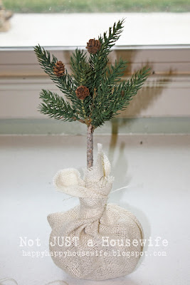 10 Pine Tree Topiary Tutorial