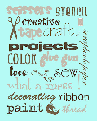 craftprintable6 FREE Craft Room Printables